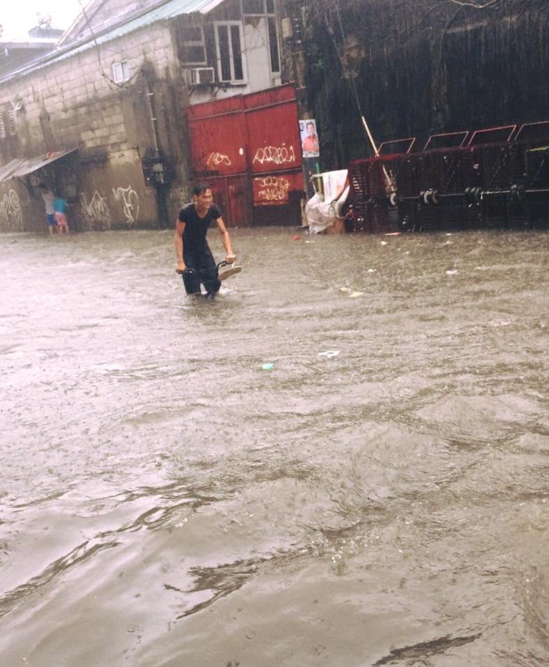 菲律賓淹水