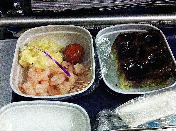 東方航空餐點