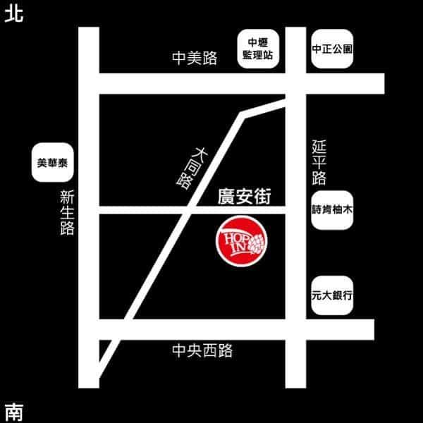 中壢hop in酒吧地圖