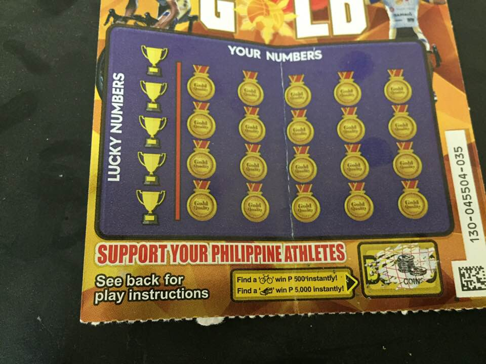 菲律賓刮刮樂