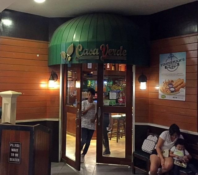 casa verde 餐廳大門口