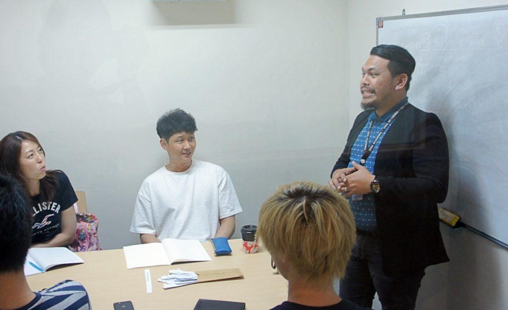 菲律賓語言學校上課