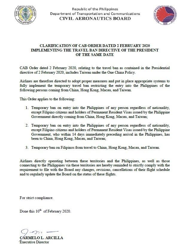 菲律賓禁止台灣入境