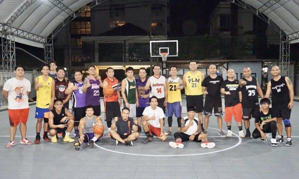 菲律賓打籃球