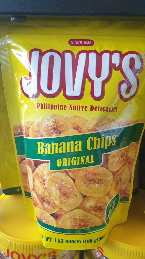 菲律賓香蕉乾
