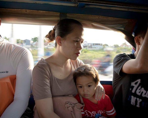 菲律賓人搭車